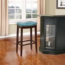 cushioned bar stool linon home decor claridge 32 in blue cushioned bar stool