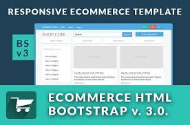 ecommerce responsive bs3 0 v website templates creative market