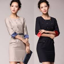 fashion korea design charming business formal office lay work