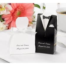 wedding favors boxes 24ct tuxedo shaped wedding favor boxes target