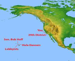 Cal State Fullerton Map Bob Huff