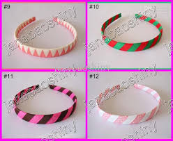 ribbon headband girl woven headbands popular ribbon headbands mix color baby