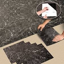 nexus vinyl tile n409 black marble self adhesive vinyl floor tiles