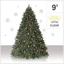 9 foot christmas tree 9 king mountain pine tree with clear lights christmas tree market