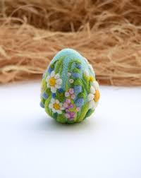 easter ornaments easter eggs needle felted easter ornaments easter decoration