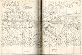 Ocean Currents Map Ocean Currents Gathering Data Ship Drifts