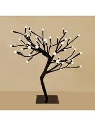 small decorative warm white blossom style led tree light