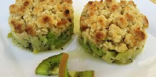 cuisiner flocon d avoine crumble de kiwi aux flocons d avoine et graines de carvi recette