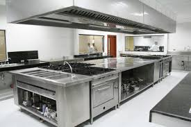Commercial Restaurant Kitchen Design Industrial Chic The Stainless Steel Kitchen Contemporary Kitchen