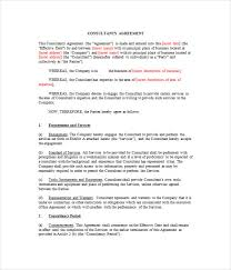 business consulting agreement consulting retainer agreement