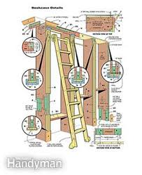 Woodworking Bookshelf Plans by How To Build A Classic Floor To Ceiling Bookcase Family Handyman