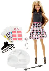 barbie mix u0027n color hairstyling doll african american
