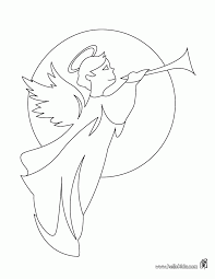 angel coloring pages print angel color free guardian