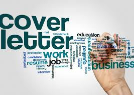 how to compose a cover letter while looking for a job