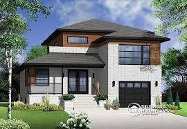 modern home plan house plan w3470 detail from drummondhouseplans