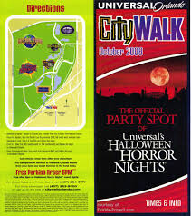 halloween horror nights 25 map universal citywalk guidemaps