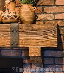 Wooden Mantel Shelf Designs by Best 25 Rustic Fireplace Mantels Ideas On Pinterest Brick