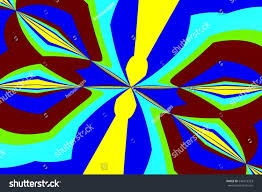 abstract design various shades colors stock illustration 544313323