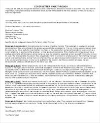 Sample Resume Covering Letter by Sample Resume Cover Letter 7 Examples In Word Pdf