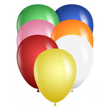 qualatex balloons 9 balloons assorted color bag