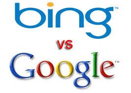 Bing contra Google