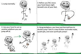 Best Memes Of 2010 - double jumping troll science