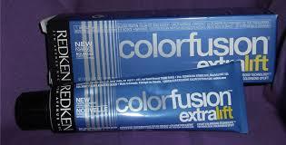 amazon com redken color fusion extra lift haircolor cream el v