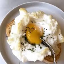 cloud eggs with fresh chives u2022 kelly senyei just a taste