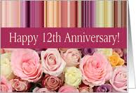 32nd wedding anniversary 12th wedding anniversary cards from greeting card universe