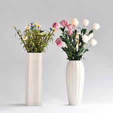 Porcelain Flower Vases Art Deco Style Square Vases Ebay