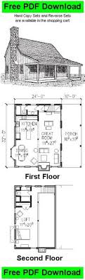 small cabin with loft floor plans cabin plan and blueprint cohutta cabin plan package