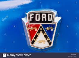 american car logos ford brand name logo in old classic american car still running in