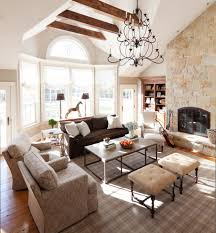new york family room furniture lights traditional with bow windows