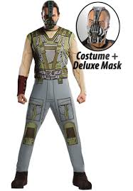 bane costume set bane fancy dress dark knight rises escapade uk