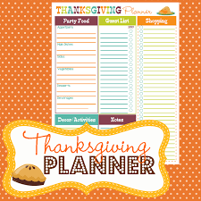 happy organized prep thanksgiving planner home