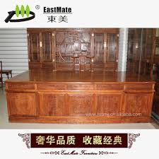 Solid Wood Executive Office Furniture by Chinese Modern L Shaped Rattan Sofa Living Room Sofa 821 Small And