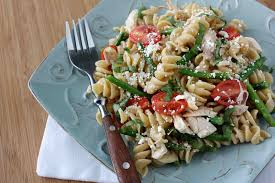 chicken pasta salad mint basil chicken pasta salad recipe with tomatoes asparagus
