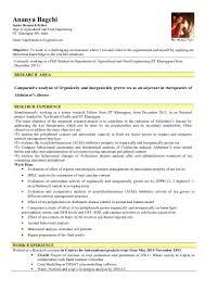 Resume Activity Updated Resume Ananya