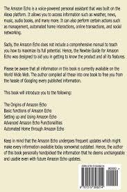 amazon echo a beginners guide to learn amazon echo fast amazon