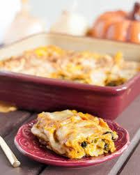 savory pumpkin lasagna vegetarian goodie godmother a recipe
