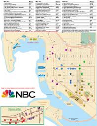 San Diego International Airport Map by Sdcc 2015 Free Shuttle Bus Services Routes And Hotels Stops Map
