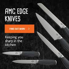 buy cookware homeware tableware and kitchenware online with amc edge knife set