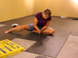 charming inspiration flooring for exercise room in basement get