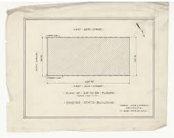 second empire floor plans rare architectural drawings for sale the empire state building