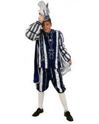 carnaval prins kostuum prins carnaval blauw wit 3 delig carnavalsland