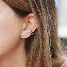s ear cuffs silver circle ear cuff
