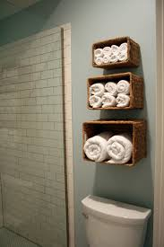 Small Bathroom Storage Ideas Three Rattan Diy Small Bathroom Storage Ideas Above Toilet And