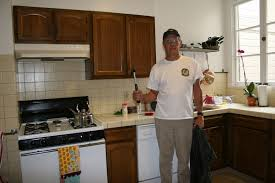 painting kitchen cabinets white before and after www onefff com