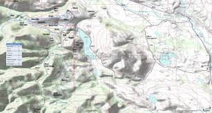Lakeview Oregon Map by Aqua Loop Trail Beaver Pond Trail Black Bear Trail Bluejay