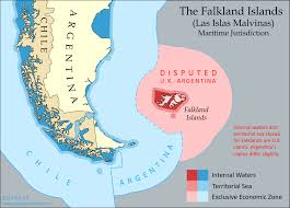 Map Of The Seas In The World by Map The Falkland Islands U0027 Disputed Seas Political Geography Now
